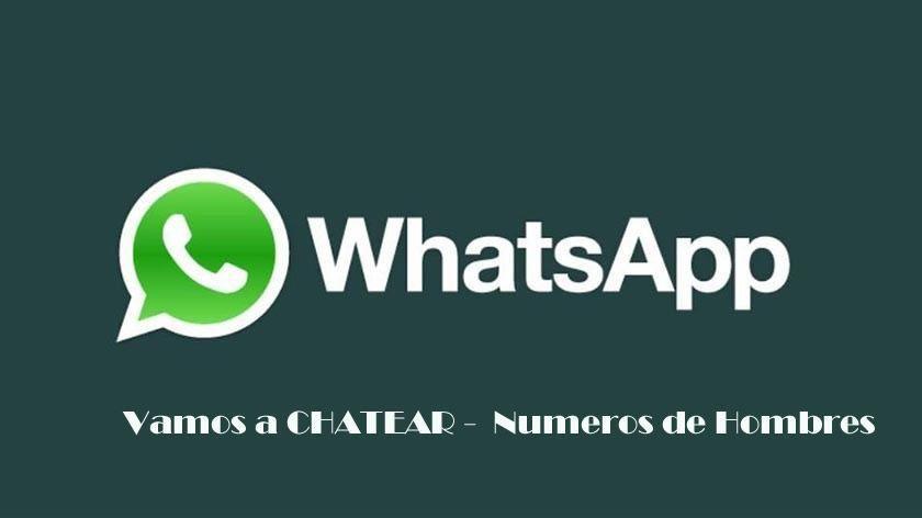 Números de Whatsapp de Hombres o Chicos para Chatear por Whatsapp y hacer amigos