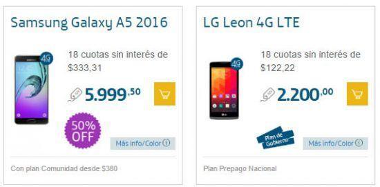 Promoción de Smartphones 50% Off (2x1) en Movistar para Navidad 1