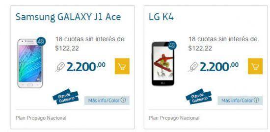 Promoción de Smartphones 50% Off (2x1) en Movistar para Navidad 2