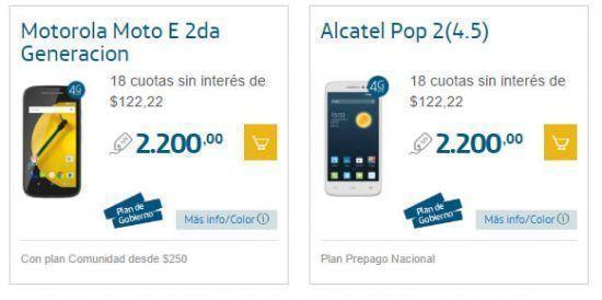 Promoción de Smartphones 50% Off (2x1) en Movistar para Navidad 3