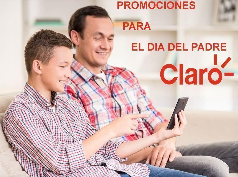 Promociones de celulares para el Día del Padre en Claro Argentina