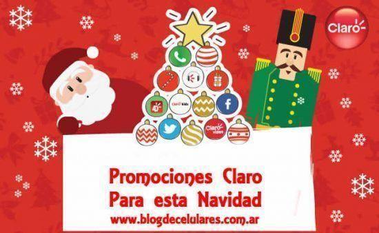 Celulares en Promoción para Navidad 2016 en Claro Argentina 1