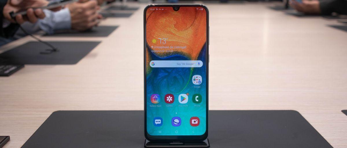 Este es el nuevo Samsung Galaxy A30. Créditos de la imagen: techradar.com