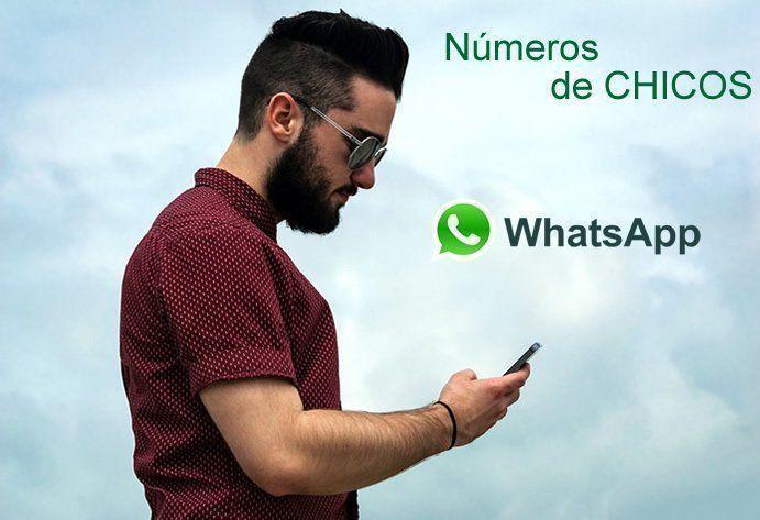 Números de Hombres para Chatear por Whatsapp y hacer amigos