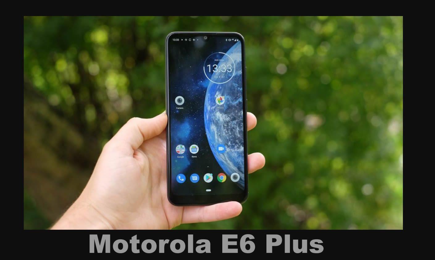 El Motorola E6 Plus es un excelente celular que podremos conseguir en Argentina