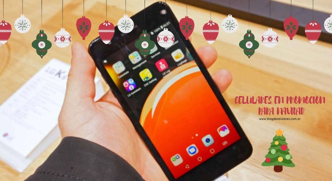 LG K9 en Claro para Navidad