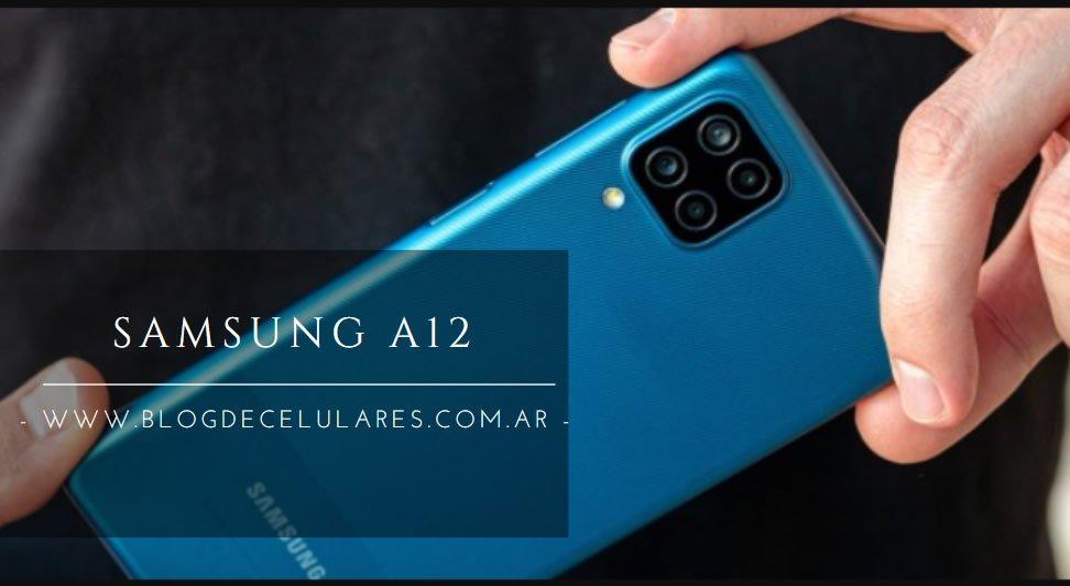 ✅Celular Libre Samsung A12 Negro