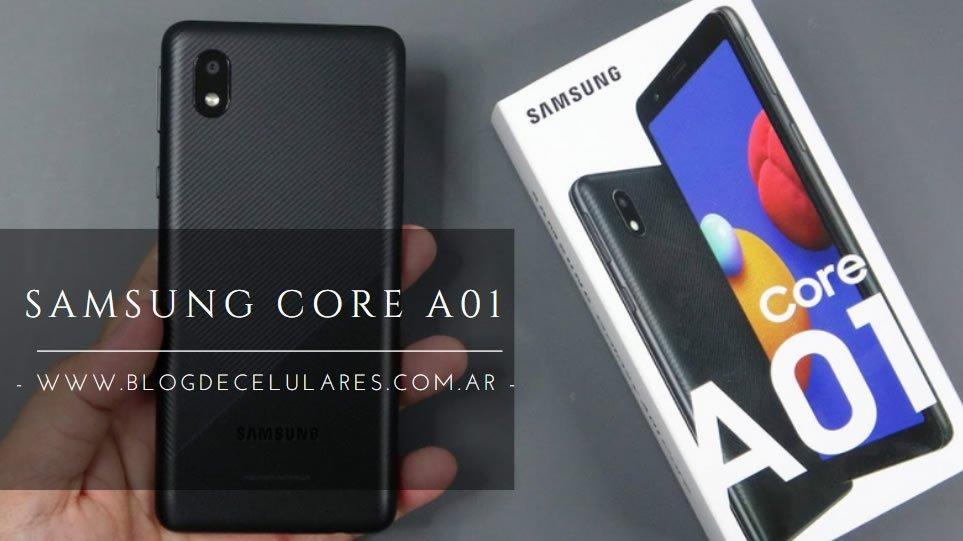 ✅Celular Libre Samsung Galaxy A01 Core