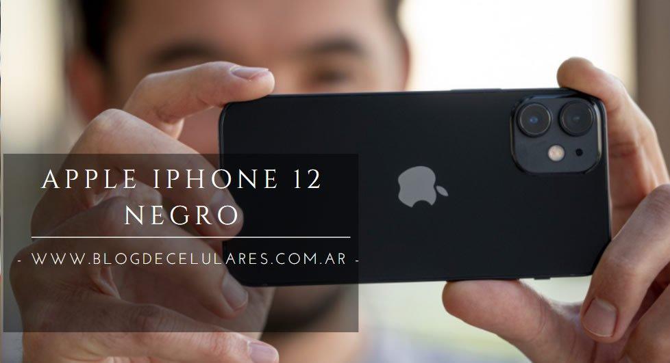 ✅Celular Libre Apple iPhone 12 Negro 128 GB