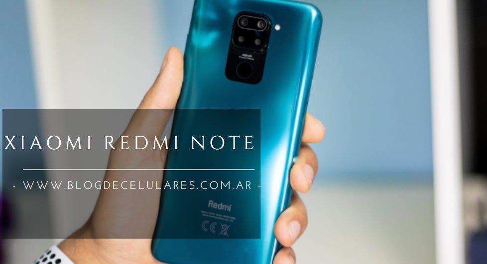 ✅Celular Libre Xiaomi Redmi Note 9